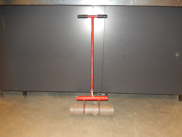 Linoleumroller Werkbreedte 42 cm.