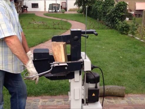 Houtkloofmachine 230 volt 8 ton