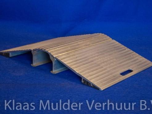 Kabel/Slangenbrug 60 cm. Aluminium