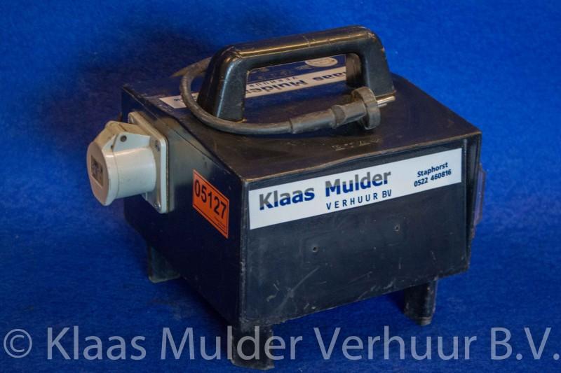 Scheidingstrafo 230 volt 2 kw